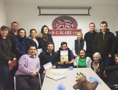 REEPHAM YOUNG FARMERS VISIT