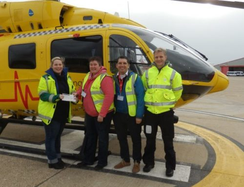 EAST ANGLIAN AIR AMBULANCE DONATION